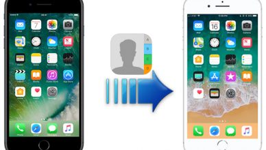 transfer contacts from old iphone